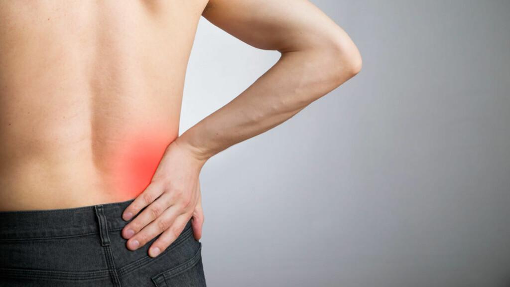 ISJIAS: Smertene stråler ned i bena. Foto: NTB Scanpix