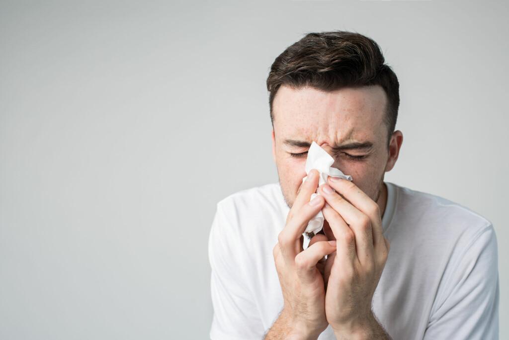 SNUFSEN? Den vanligste årsaken til tett nese er forkjølelse, men hvis du ofte er tett i nesen, bør du finne ut årsaken til dette.  Foto: Shutterstock