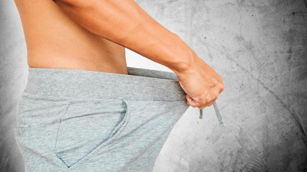 GÅR IKKE EREKSJONEN TILBAKE: Vedvarende ereksjon er en tilstand som krever rask legehjelp. Varer ereksjonen for lenge kan det skade svamplegemet i penis. Foto: NTB Scanpix/Shutterstock
