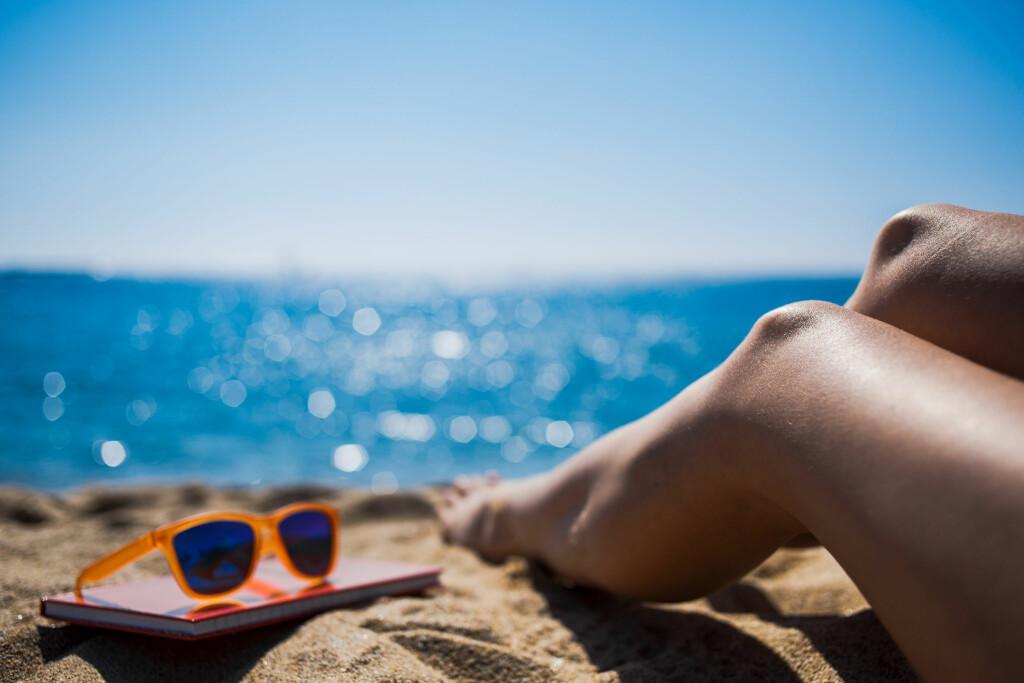 D-VITAMIN: Vitamin D dannes i huden når sollys, UVB-stråler, treffer huden. Foto: Shutterstock, NTB scanpix