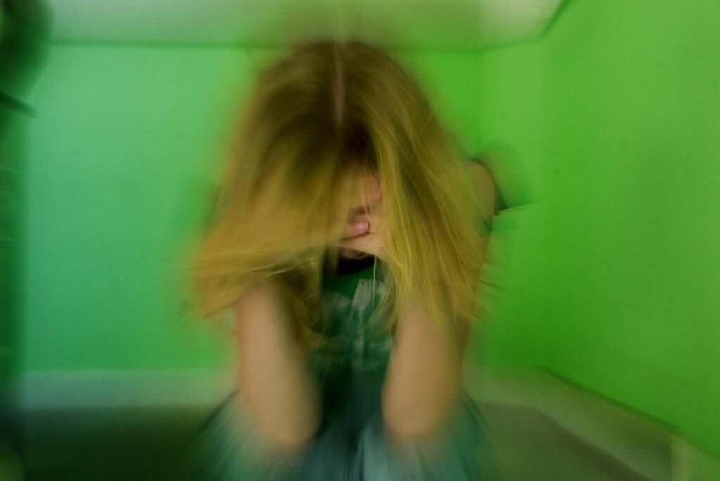 FRYKT: Mens angst er redselen for at noe kan skje, er depresjon mer som en reaksjon på et reelt eller innbilt tap.  Foto: NTB/Scanpix, Jeppe Carlsen