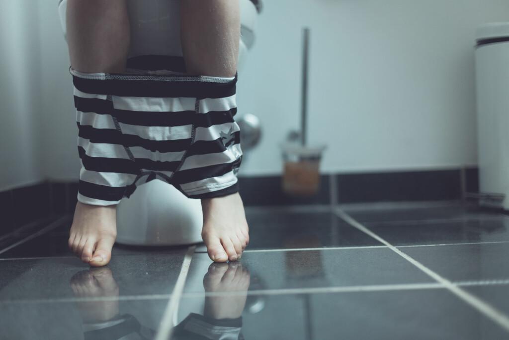 Enkoprese: Tilstanden fører ofte til forstoppelse. Foto: NTB Scanpix