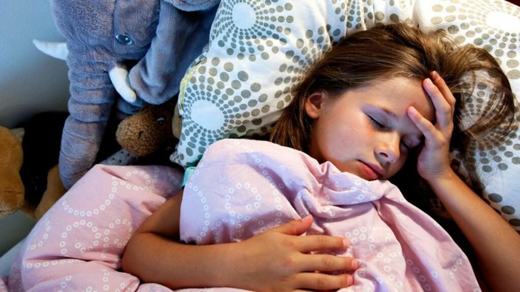 VANLIG: Så mange som 20 prosent av alle barn er plaget med magesmerter som kommer og går over en lang periode. Foto: NTB Scanpix