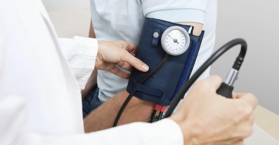 BLODTRYKKET VARIERER I LØPET AV DAGEN: Blodtrykket faller når du slapper av, og det er lavest når du sover. Foto: Scanpix