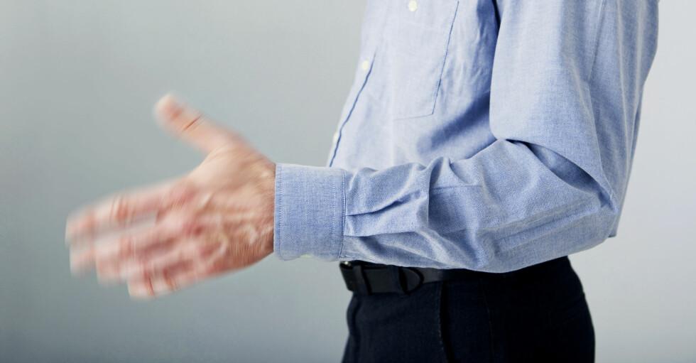 VANLIG Å SKJELVE: Skjelvinger blir sett på som et problem når det går ut over arbeid eller sosiale relasjoner.  Foto: Shutterstock