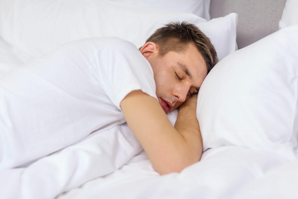 Snorking: Mange sliter med snorkeproblemer. Foto: NTB Scanpix