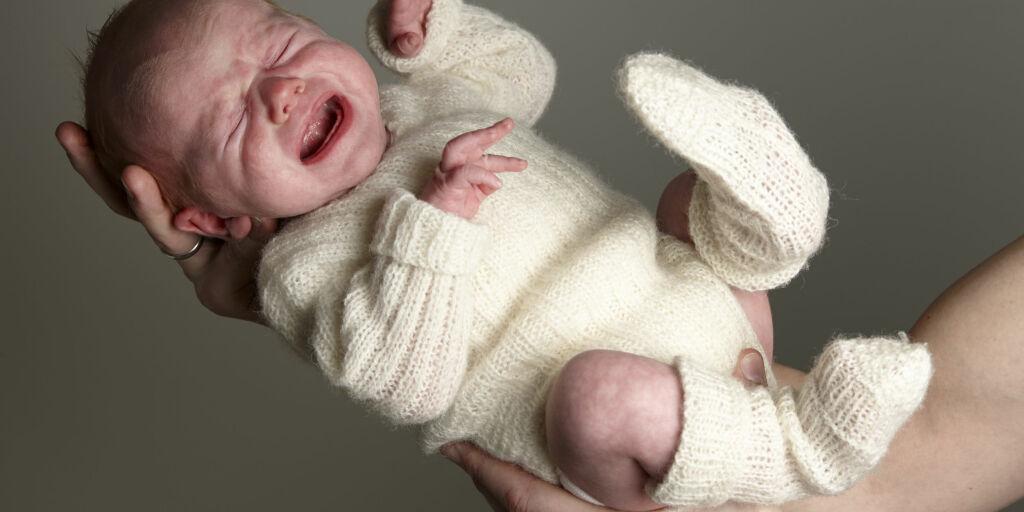 image: Kolikk hos baby