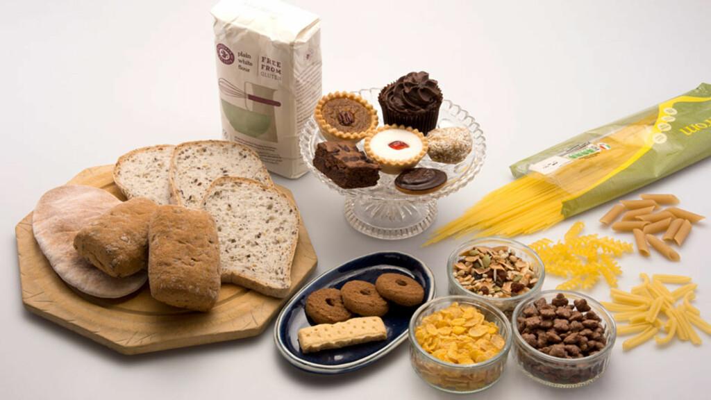 MAT VED CØLIAKI: Det blir stadig lettere å finne glutenfrie alternativer i butikken. Foto: NTB Scanpix/Science Photo Library