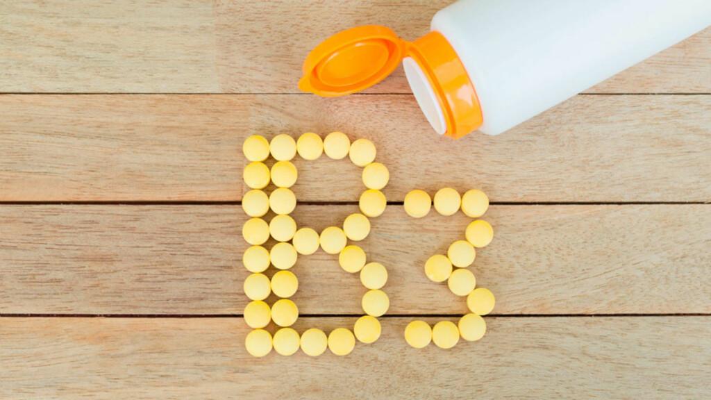 B3-VITAMIN: Kjøtt, fisk, belgfrukter, helkorn og grønne grønnsaker er gode vitamin B3 kilder.  Foto: NTB Scanpix/Shutterstock