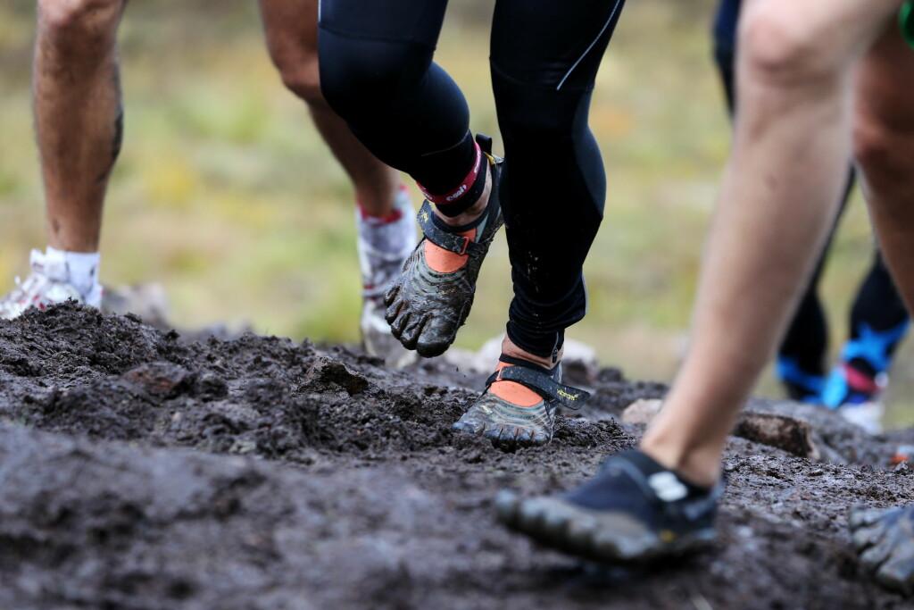 LØPERE ER UTSATT: For å forebygge smerter i akillesen bør man unngå rask økning i treningsmengde og intensitet. Foto: Scanpix