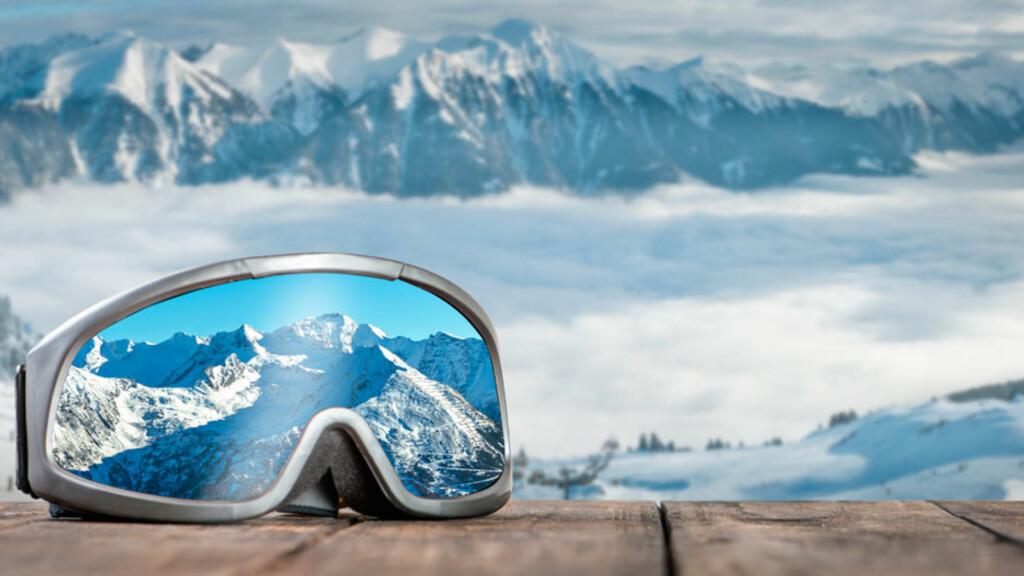 SNØBLINDHET: Beskytt deg mot skarpe solstråler. Solbriller forebygger snøblindhet. Foto: NTB Scanpix/Shutterstock