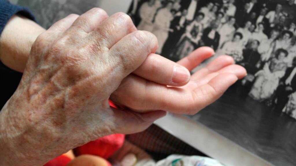 ALZHEIMERS SYKDOM: En hjernesykdom som gjør at man mister grepet på nåtid og fortid, og tap av hukommelse er et vanlig symptom. Foto: NTB Scanpix/Shutterstock