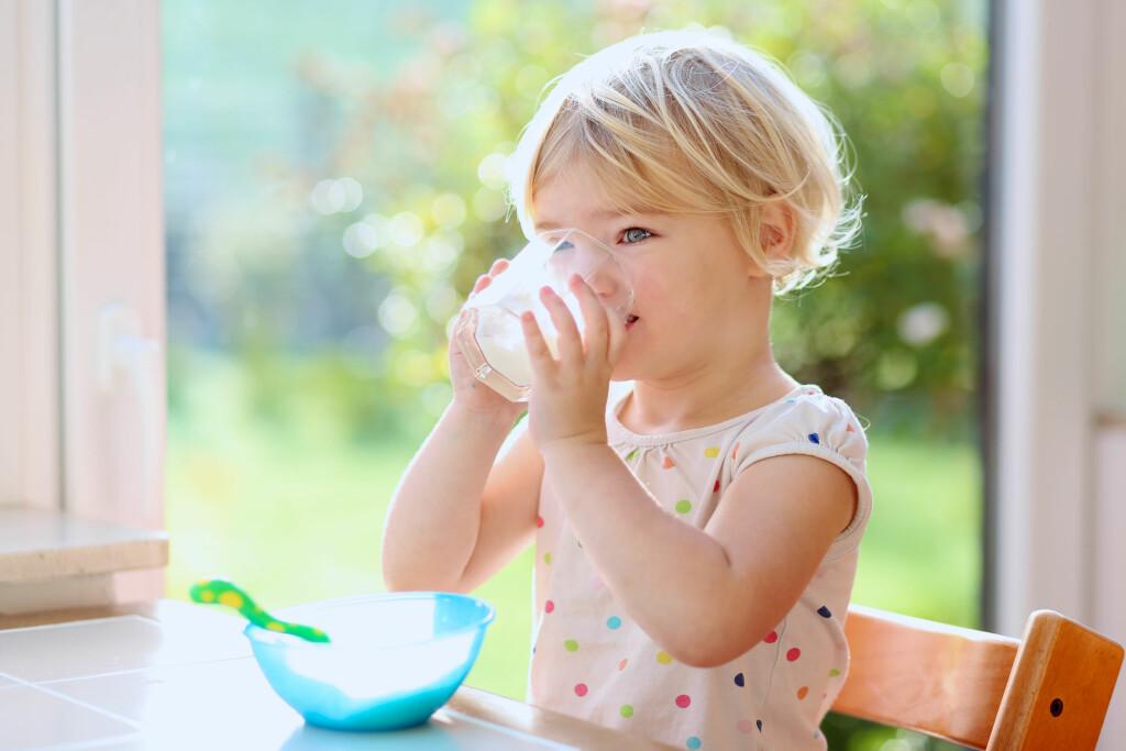MELKEALLERGI: Vanligst hos barn Foto: NTB Scanpix