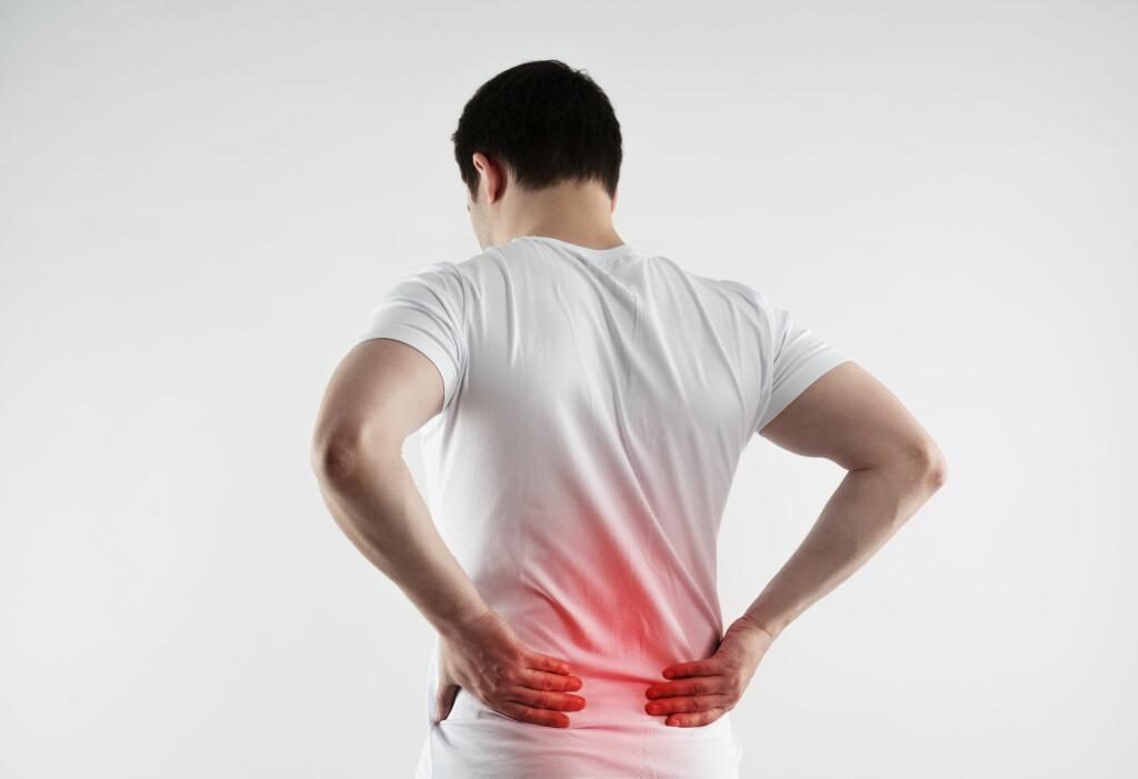 Akutte smerter i korsryggen: 85 prosent av alle korsryggsmerter er uspesifikke. Foto: NTB Scanpix