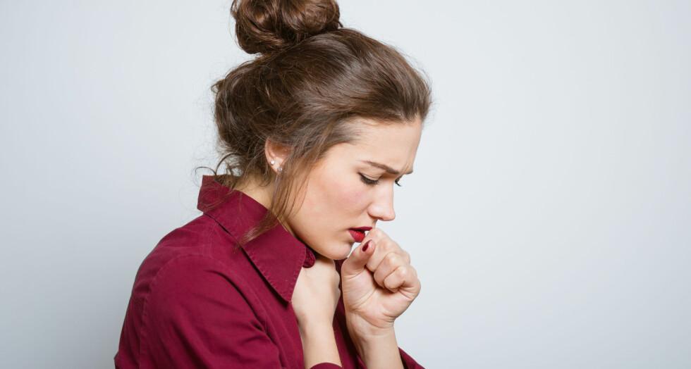 Mykoplasmalungebetennelse: Mange får langvarig tørrhoste. Foto: NTB Scanpix