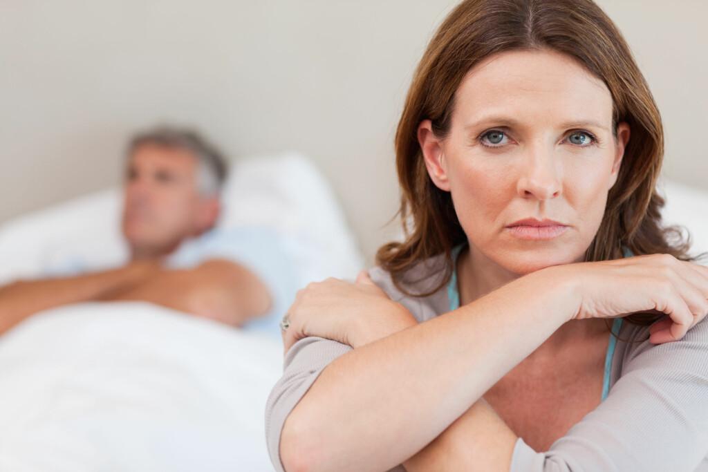 NEDSATT SEXLYST: Nedsatt sexlyst er mest utbredt blant kvinner, rundt 30 prosent av alle kvinner har nedsatt sexlyst. Foto: NTB Scanpix