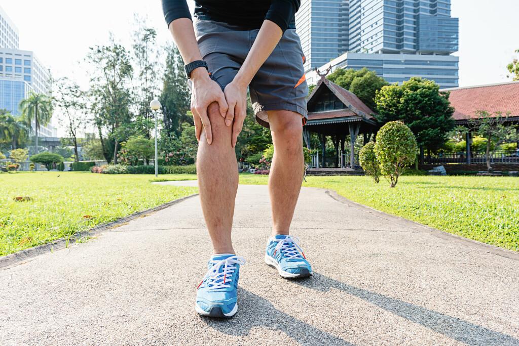 Trening mot slitasjegikt: Trening er spesielt bra for de som har slitasjegikt i kneet. Foto: NTB Scanpix