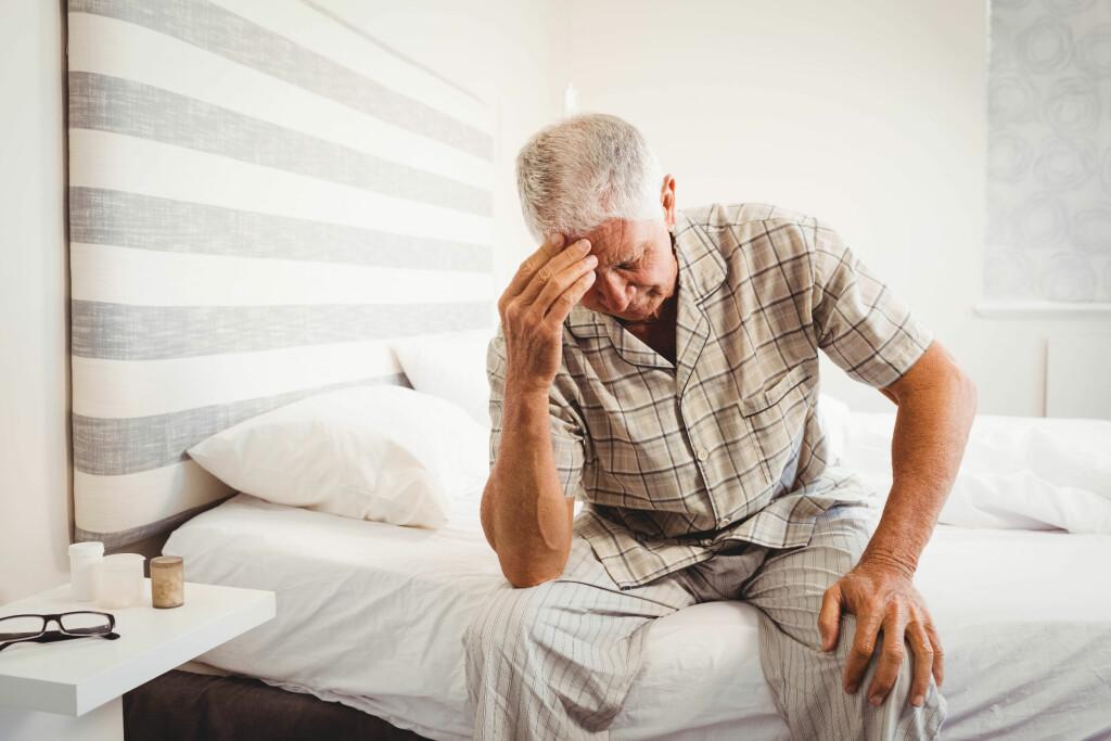 Hjerneslag: Hjerneslag kommer akutt, med symptomer som svimmelhet, språkvansker og hodepine. Foto: NTB Scanpix