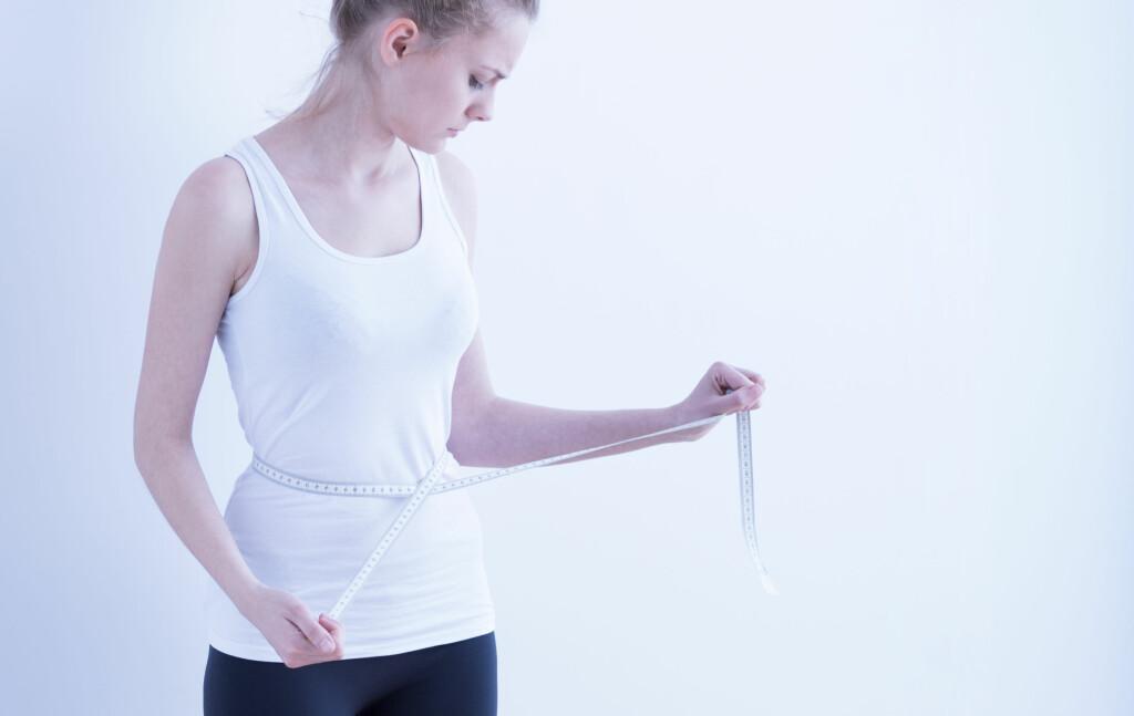 Spiseforstyrrelser: Personer som lider av spiseforstyrrelser har et usunt forhold til kropp og mat. Foto: NTB Scanpix