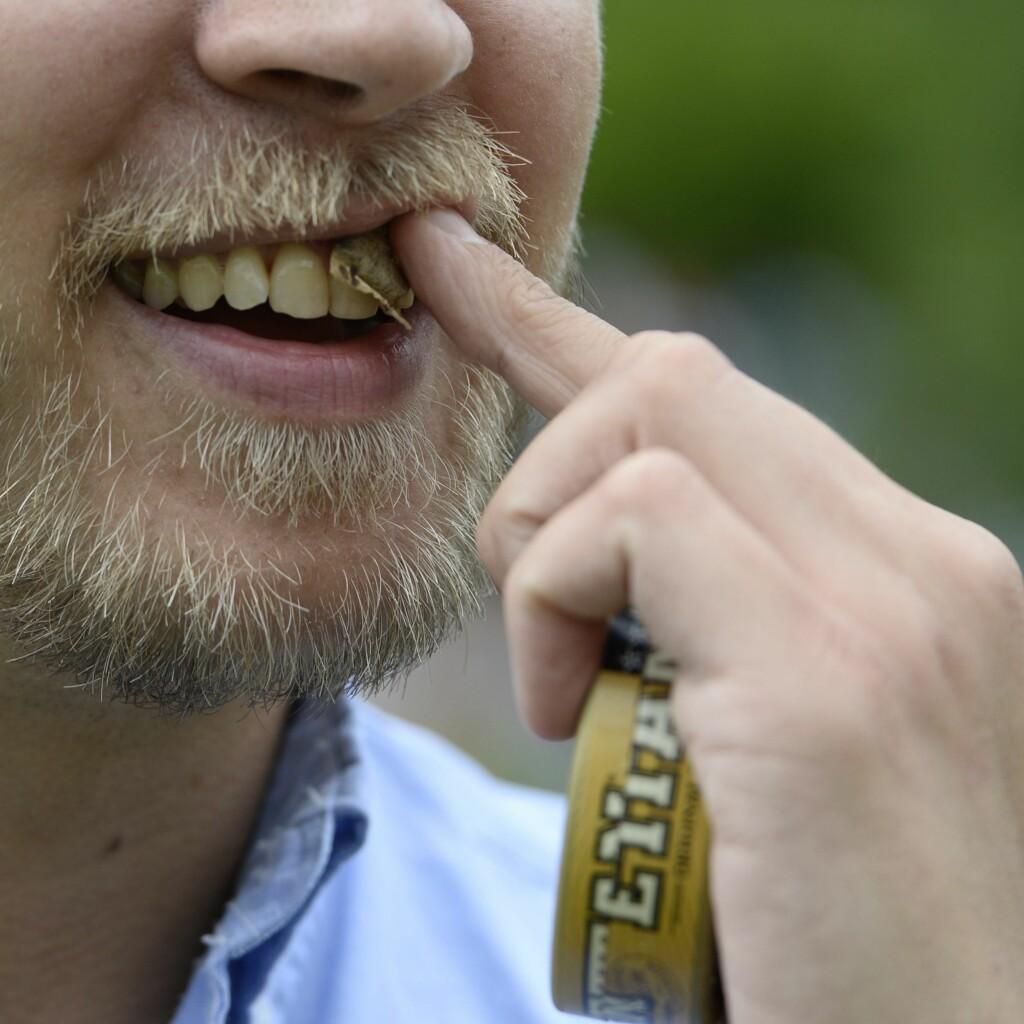 SKADELIG: Snusing kan føre til gradvis ødeleggelse av tannkjøttet og beinvevet som tennene er forankret i.  Foto: Maja Suslin/NTB Scanpix