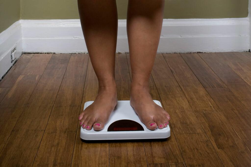 ANSTRENGT FORHOLD TIL MAT: Spiseforstyrrelser er akkurat den samme lidelse for alle, uansett kroppsvekt eller kjønn. Foto: NTB Scanpix/Michelle Gibson
