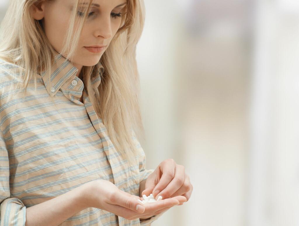 RASK VIRKNING: I de fleste tilfeller er aborten over etter 4-6 timer fra en tar Misoprostol. Det er også vanlig å ha blødninger i noen uker etter en medikamentell abort. Foto: Scanpix