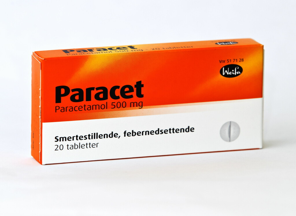 I Norge har det ikke vært økninger i paracetamol-forgiftninger.  Foto: VG/NTB Scanpix
