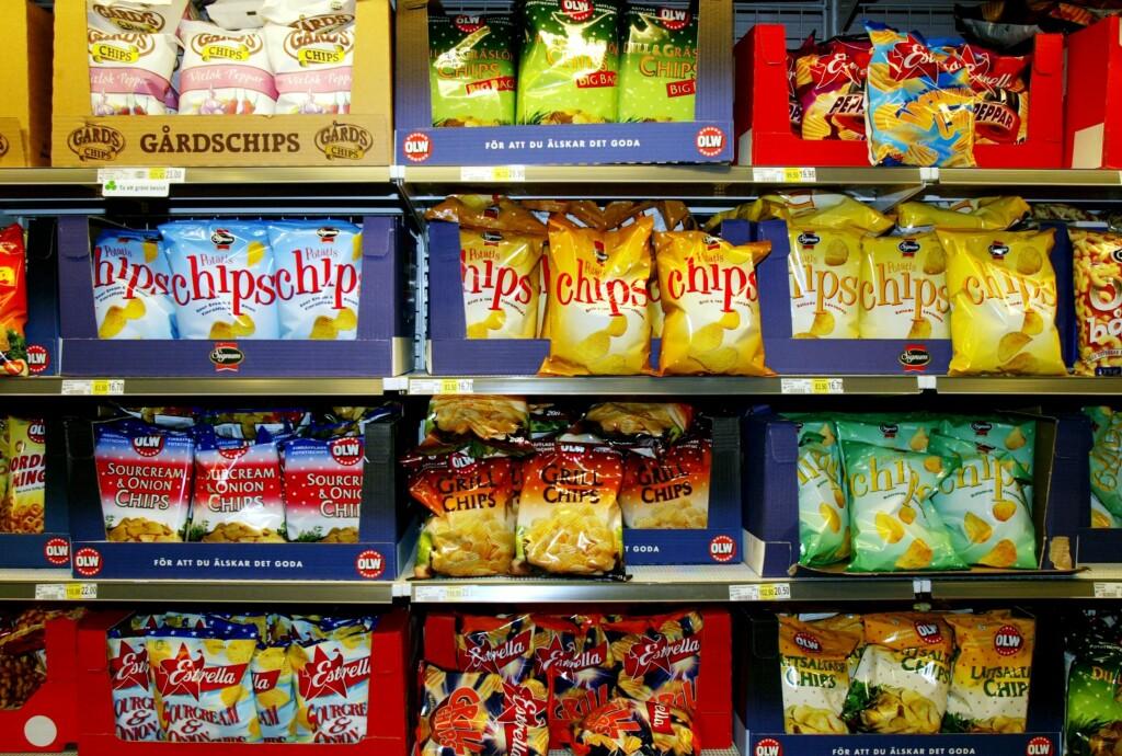 Akrylamid i matvarer kan føre til kreft.  Foto: TT NYHETSBYRÅN/Scanpix
