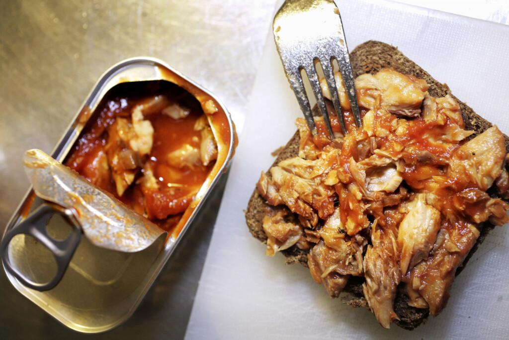 200 gram fet fisk, som makrell, dekker dagsbehovet for vitamin D. Foto: Scanpix