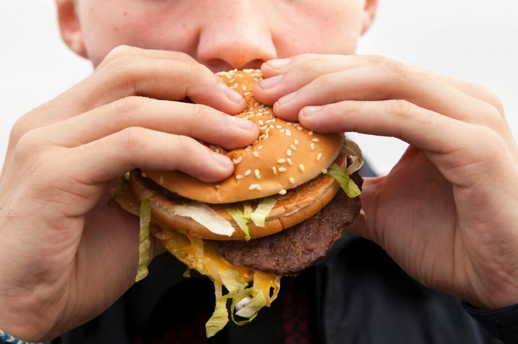 For de som trener ekstremt mye kan en hamburger gjøre samme nytten som proteintilskudd, viser forskning. Foto: All Over Press