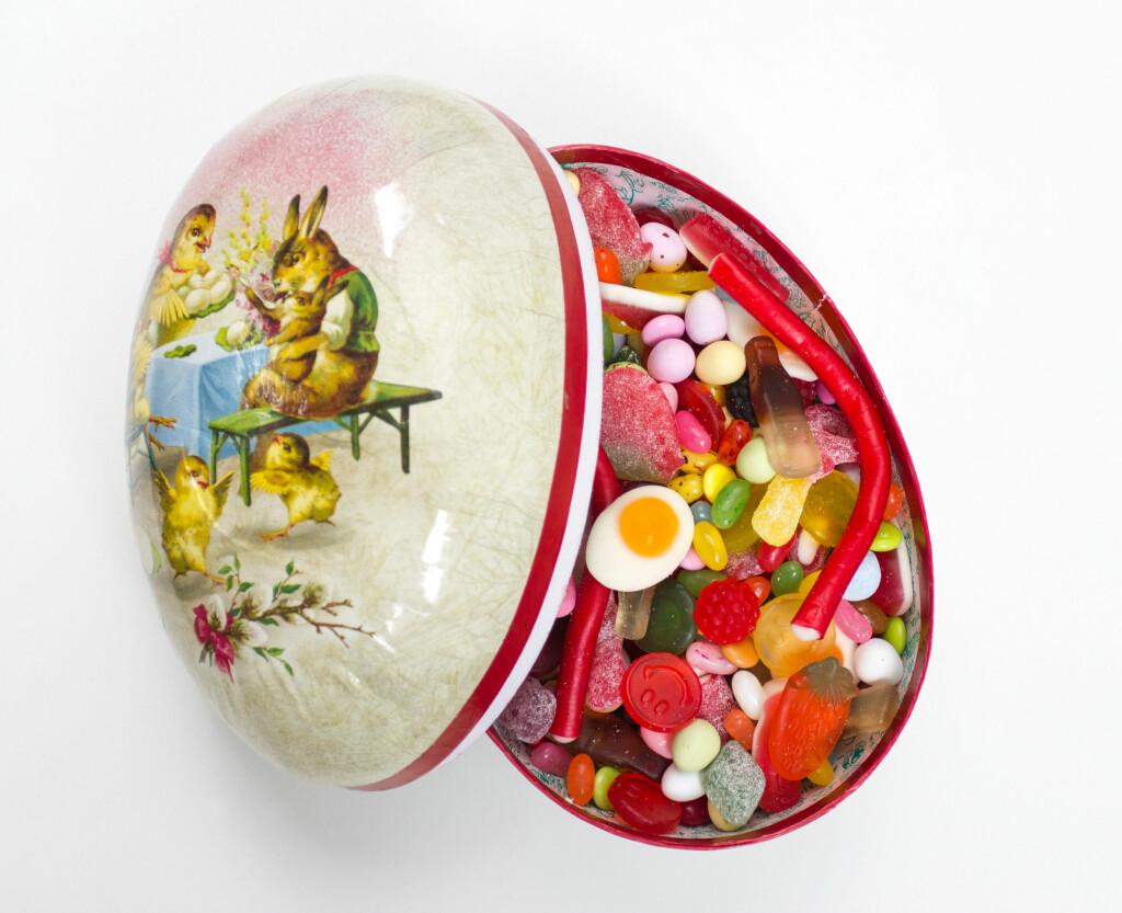 SNOP: Hvor mye godteri kan du egentlig tillate deg i påsken? Foto: All Over Press