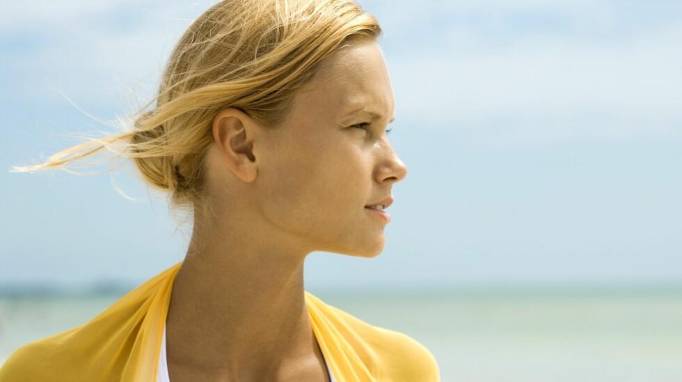 KROPPEN ANGRIPER: EN autoimmun respons gjør at leveren blir rammet. Gulfarget hud kan være et av symptomene ved langtskredet sykdom. Foto: NTB SCanpix/Shutterstock.