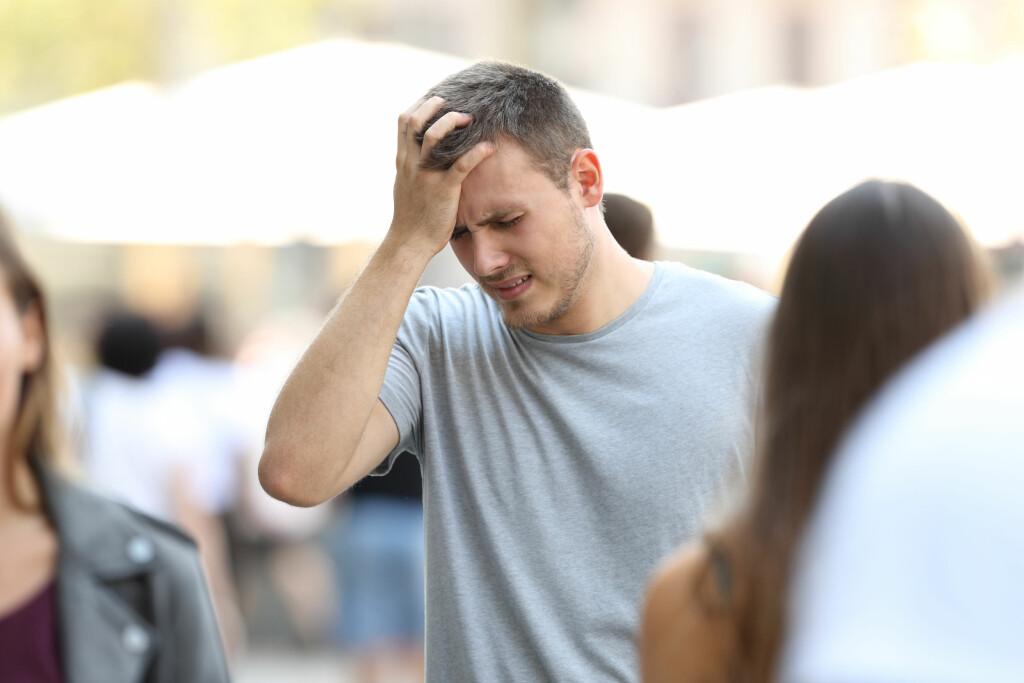 ANGST ER IKKE FARLIG: Et angstanfall kan vare i 10-30 minutter, men som regel roer det seg så fort man kommer ut av situasjonen.  Foto: Shutterstock