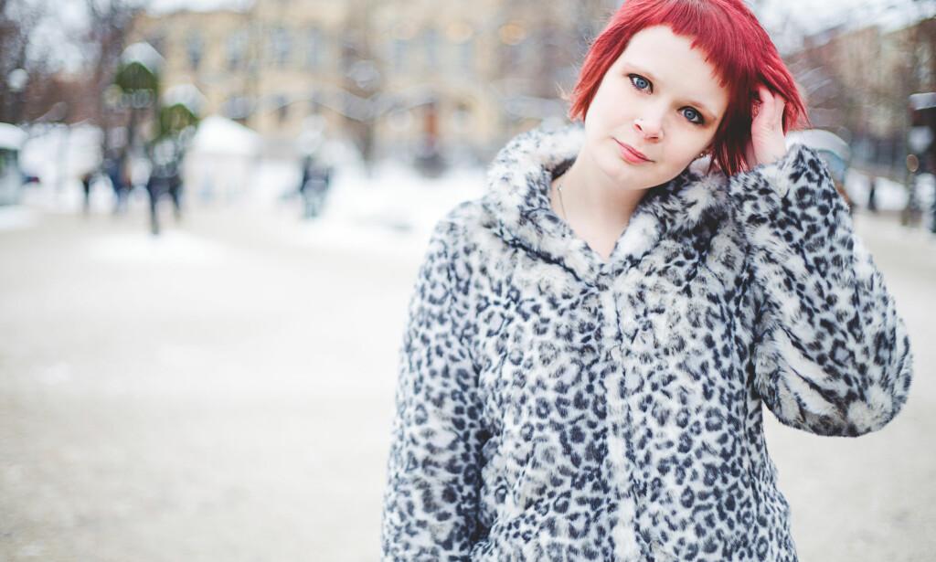 HAR ASPERGER SYNDROM: Joanna Halvardsson (29) fikk Asperger-diagnosen da hun var 16 år gammel. FOTO: Evelina Eklund Hassel