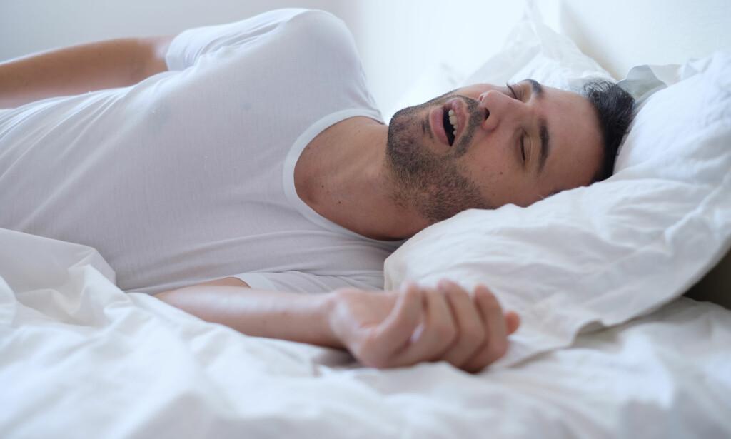 Å SNAKKE I SØVNE: Opptil halvparten av alle barn snakker i søvne frem til de er rundt åtte år, men noen fortsetter også i voksen alder. FOTO: NTB Scanpix