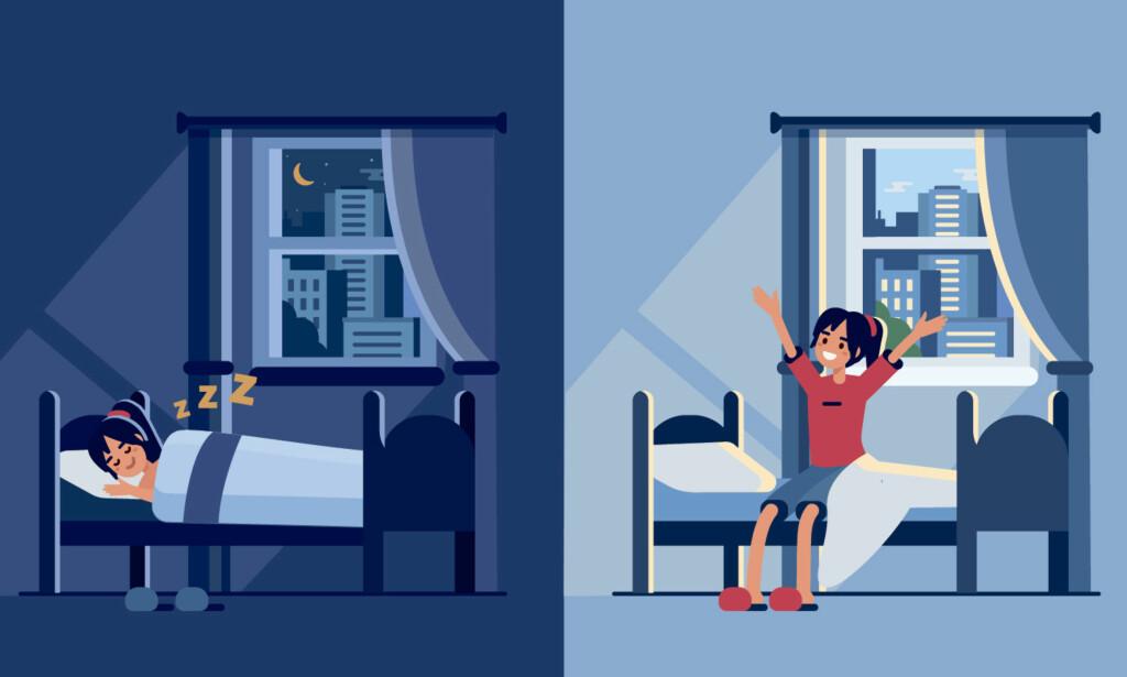 SØVNVANSKER: Hvis du sliter med å få sove, kan det å sove godt og våkne uthvilt virke umulig. Det er sterkt å anbefale at du først prøver disse anerkjente rådene, før du vurderer sovemedisin. Foto: NTB Scanpix / Shutterstock