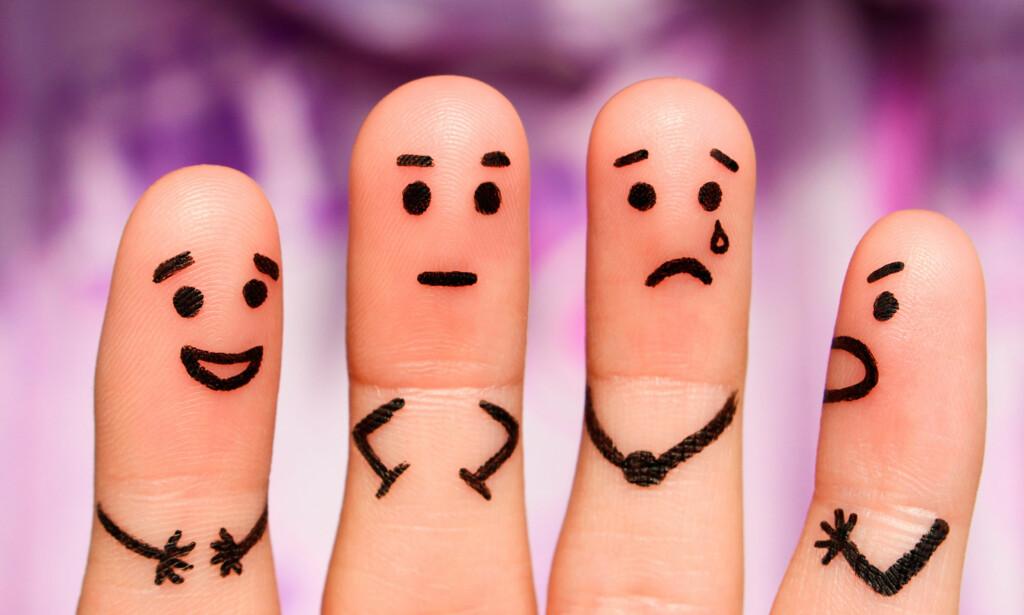 DEPRESJON HAR MANGE ANSIKT: Det finnes ulike typer diagnoser ved depresjon. Symptomene er også noe forskjellig. Foto: NTB Scanpix / Shutterstock