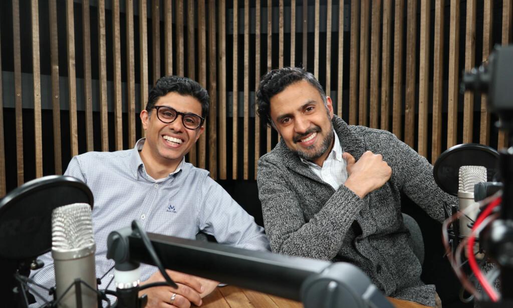 NY SERIE FRA LOMMELEGEN: Legene og brødrene Naeem og Wasim Zahid snakker om symptomer, sykdom, helse, kropp og medisin i vår serie.