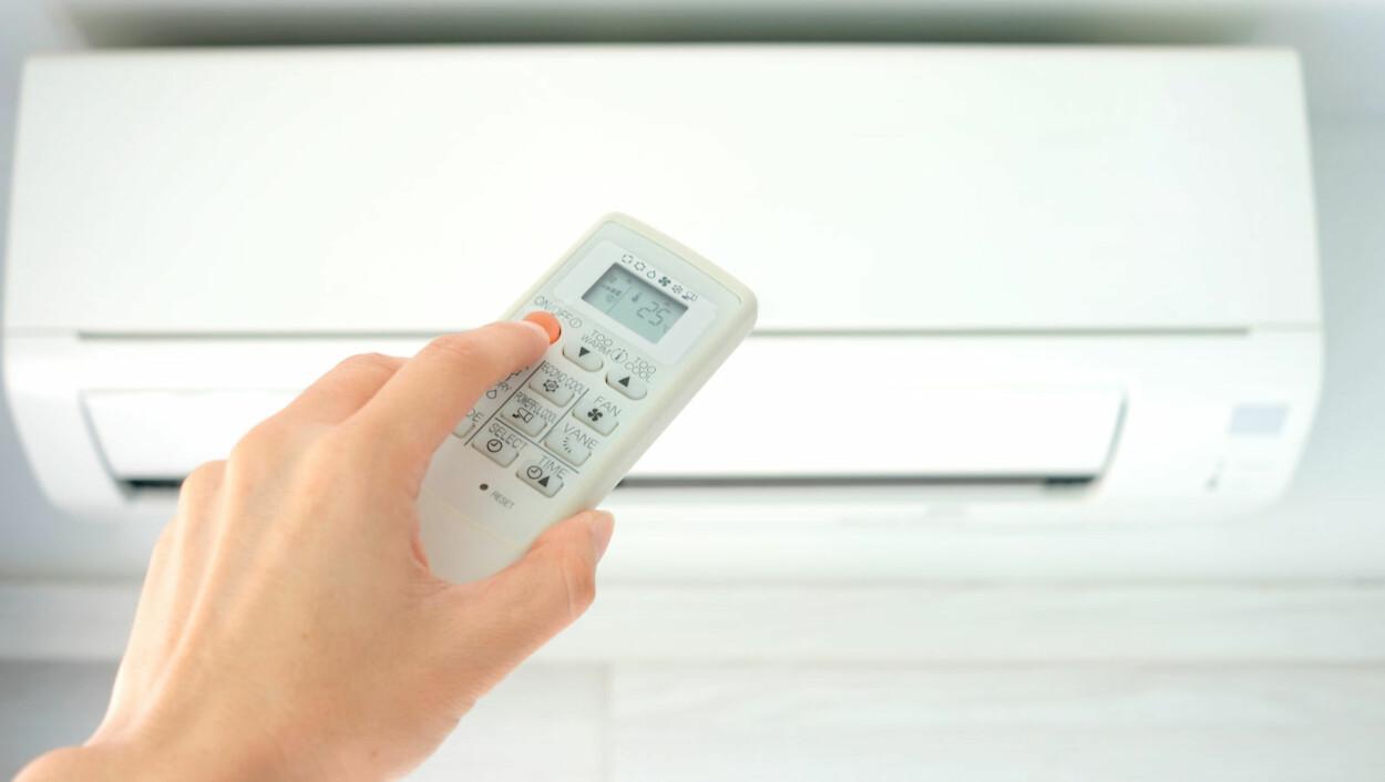 KALD LUFT: Godt vedlikehold av apparatet er viktig for å forebyge sykdom. Foto: NTB Scanpix / Shutterstock.