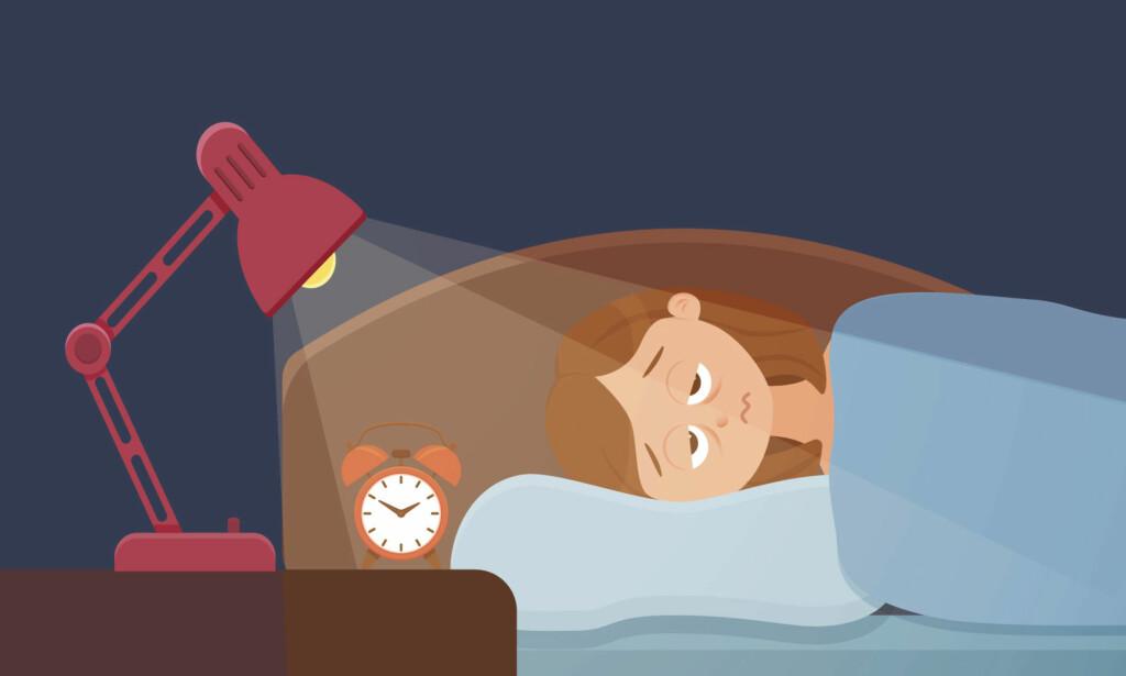 PROBLEMER MED SØVNEN? Det finnes mange ulike søvnforstyrrelser. Illustrasjon: NTB Scanpix / Shutterstock