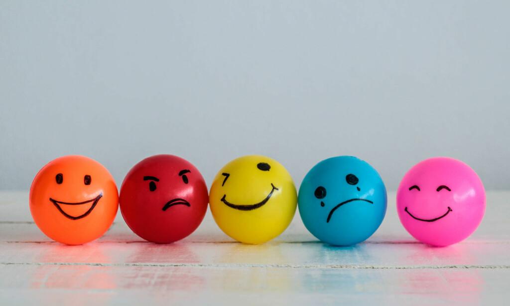 FØLELSENE SVINGER: Ved borderline kan humøret og følelsene for andre variere sterkt, og gå fra det ene ytterpunktet til det andre i løpet av kort tid.