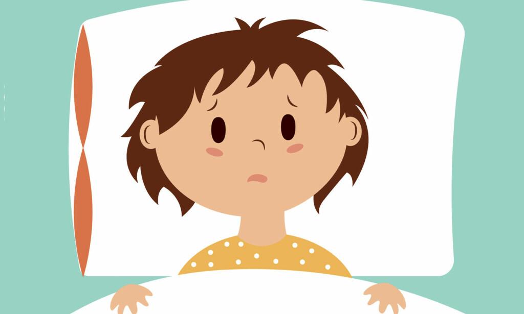 KVALM OG UVEL: Barn kan på samme måte som voksne bli kvalme og kaste opp. Barn er ekstra utsatt for å bli dehydrert og trenger god pleie. Foto: NTB Scanpix/Shutterstock