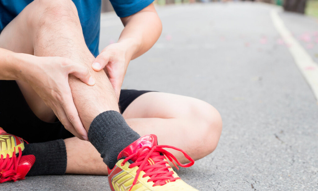 SMERTER FORAN PÅ LEGGEN: Kan være et tegn på beinhinnebetennelse. Foto: NTB Scanpix/Shutterstock