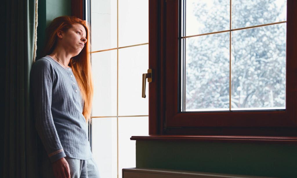 MØRKETID: Vinterdepresjon tilskrives at mindre sollys i vinterhalvåret påvirker kroppen på flere måter som kan medføre tilstanden. Foto: NTB Scanpix/Shutterstock.
