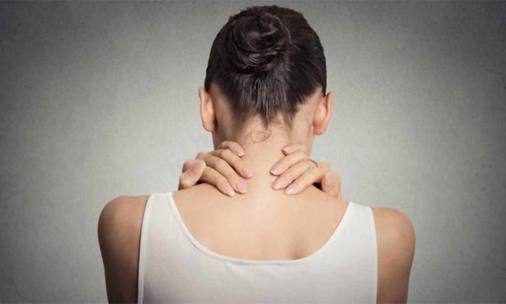 MUSKEL- OG LEDDSMERTER: Fibromyalgi kjennetegnes ved dype, brennende smerter flere steder i kroppen Foto: NTB Scanpix