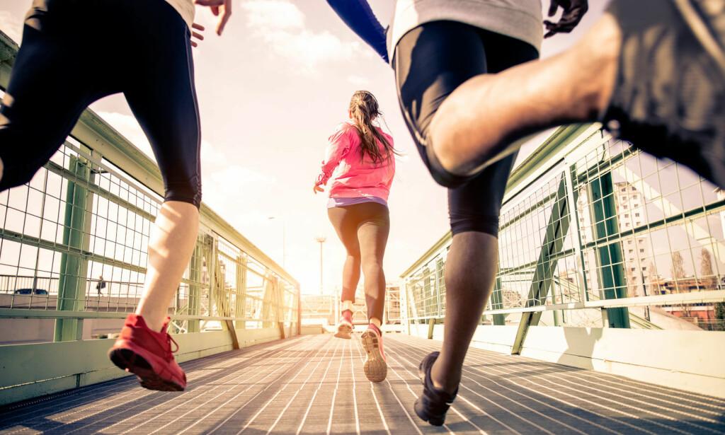 TRENINGSNARKOMAN? Hvis treningen styrer din hverdag, og du blir fysisk og mentalt dårlig dersom du må stå over en trening, snakker vi om treningsavhengighet. Foto: NTB Scanpix/Shutterstock