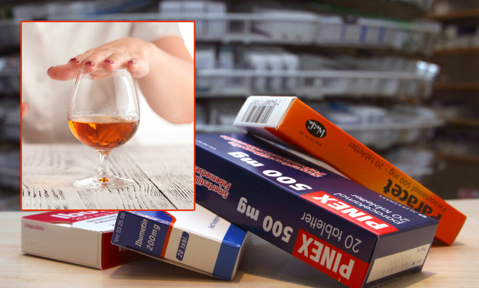 KAN JEG DRIKKE ALKOHOL - OG TA EN PARACET? Det går som regel fint. Med mindre du drikker mye og ofte alkohol, eller du har leversykdom. Foto: NTB Scanpix/Shutterstock