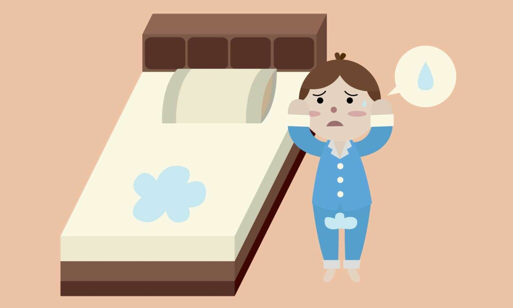 SENGEVÆTING: Uhell kan skje! Hvis barnet er over 6 år og fortsatt tisser i sengen om natten, er det lurt å gå til lege. Foto: NTB Scanpix/Shutterstock