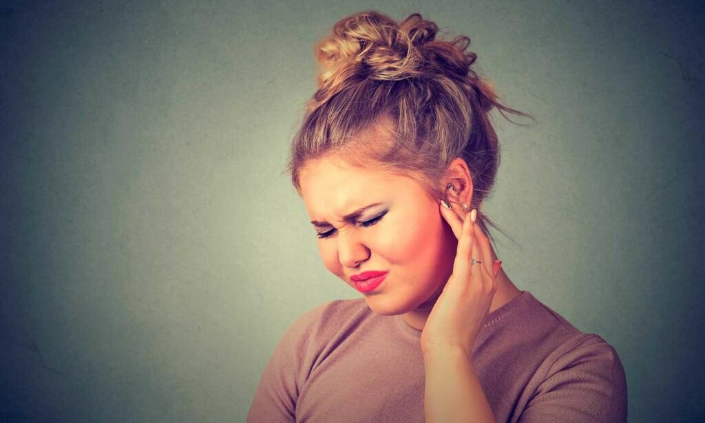 RYKNINGER: Plutselig smerte og rykninger i ansiktet er symptomer ved trigeminusneuralgi. Foto: NTB Scanpix/Shutterstock