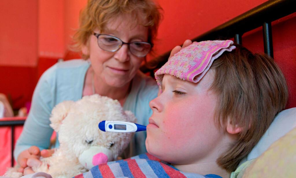 DÅRLIG IMMUNFORSVAR: Lav konsentrasjon av nøytrofile granulacytter i blodet hver 21. dag kan medføre at man får milde infeksjoner med feber og infeksjon i luftveiene. Foto: NTB Scanpix/Rex Shutterstock